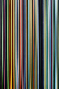 colorful static lines